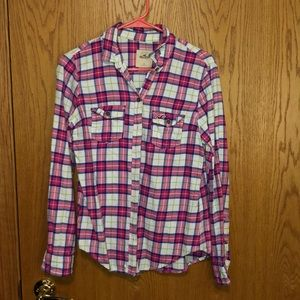 Hollister flannel